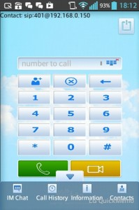 VoIP Video SIP SDK for Android - Sample